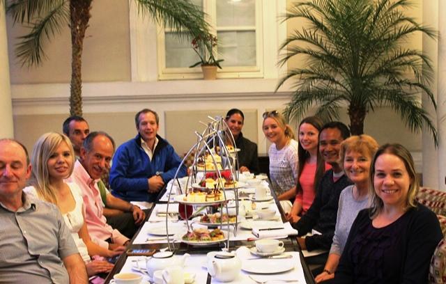 Afternoon Tea with Roque Sevilla at Casa Gangotena, Quito, Ecuador