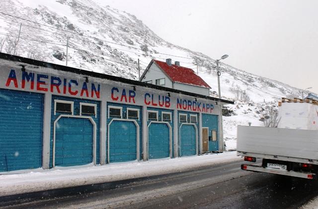 American Car Club Honningsvåg Nordkapp