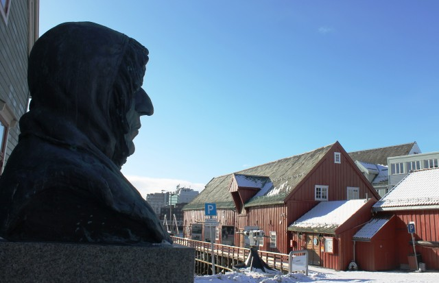 Roald Amundsen Museum in Tromso Norway - image Zoe Dawes
