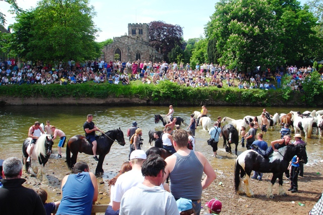 Appleby Horse Fair - River Eden
