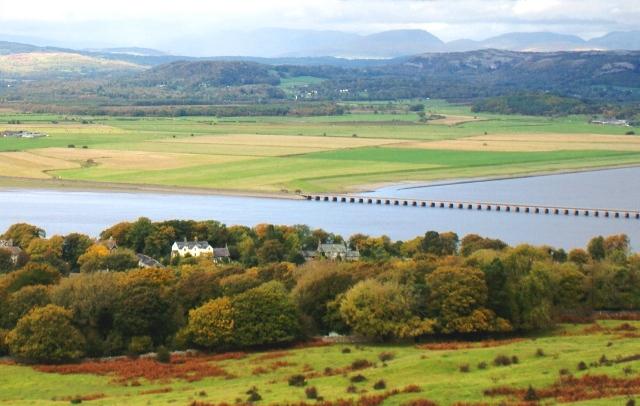 View from Arnside Knott, Cumbria