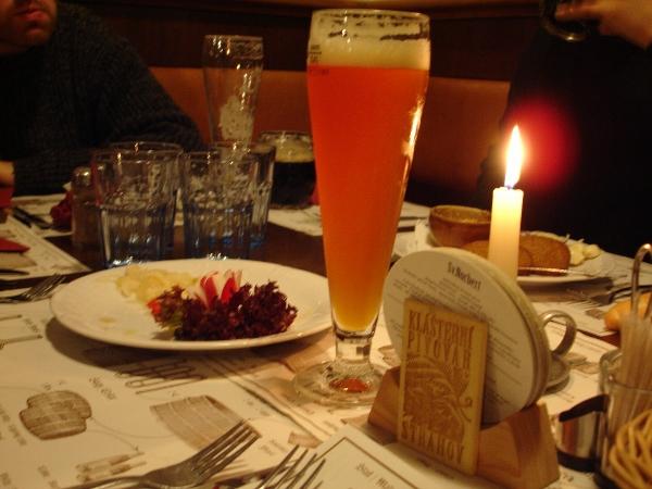 Klasterni Pivovar beer & meal