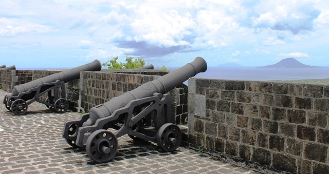 Brimstone Hill Fortress Cannons St Kitts - image Zoe Dawes