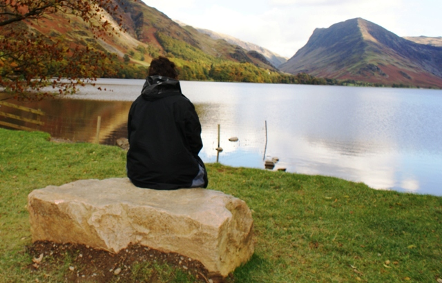 Haystacks from Buttermere Lake District view - image Zoe Dawes