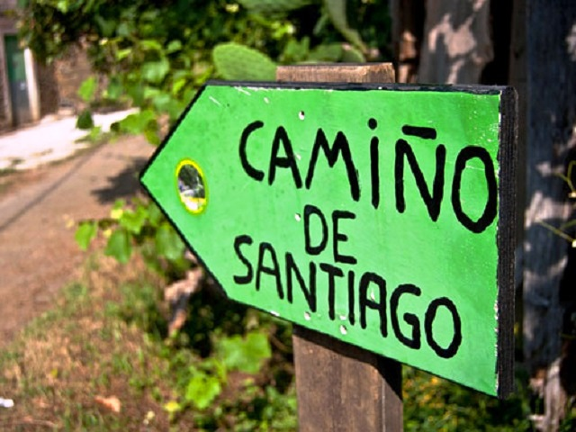 Camino Frances sign  - photo c/o Follow the Camino