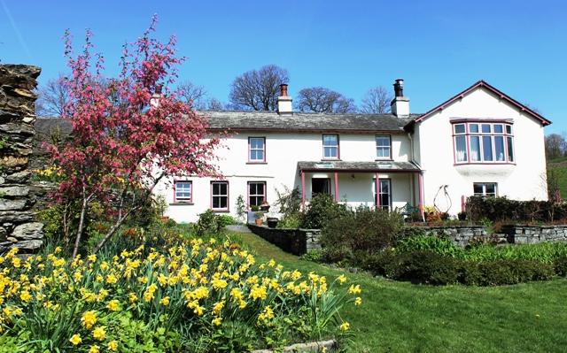 Castle Cottage, Beatrix Potter's home, Near Saawrey, Lake District - photo Zoe Dawes