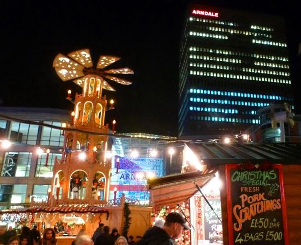 Chrismas Market Manchester