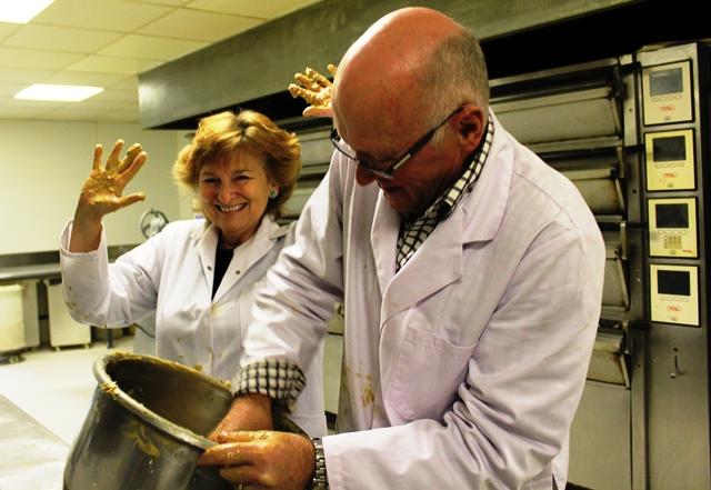 Dundee Cake Mixology Clarks Bakery Dundee - image Zoe Dawes
