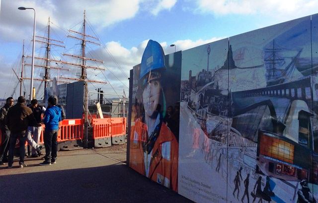 Dundee City Riverfront - image Zoe Dawes