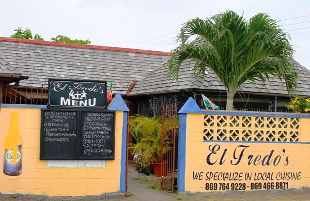 El Fredo's in St Kitts, Caribbean - image Zoe Dawes