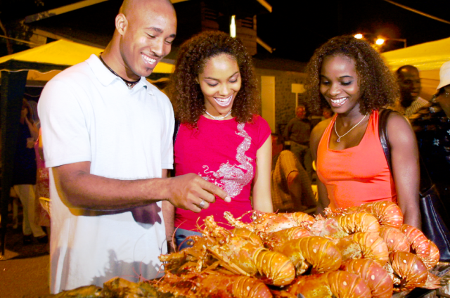 Fish Friday on St Lucia