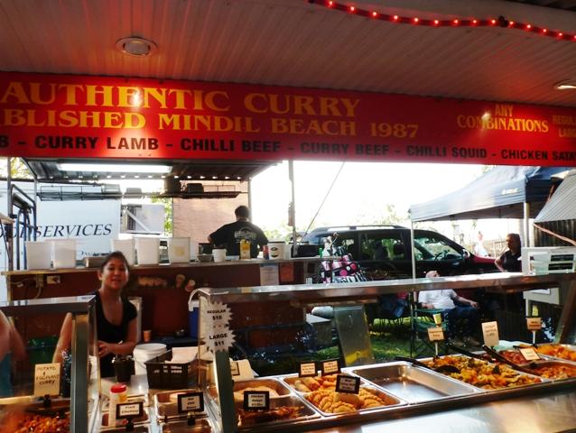 Food stall Mindil Beach, Darwin