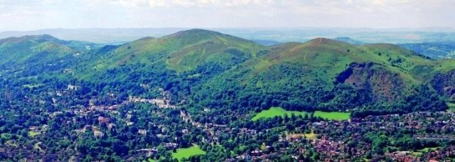 Great Malvern and the Malvern Hills - photo vistithemalverns.co.uk