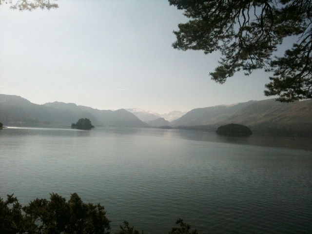 Derwentwater from Friar's Crag - photo by Zoe Dawes