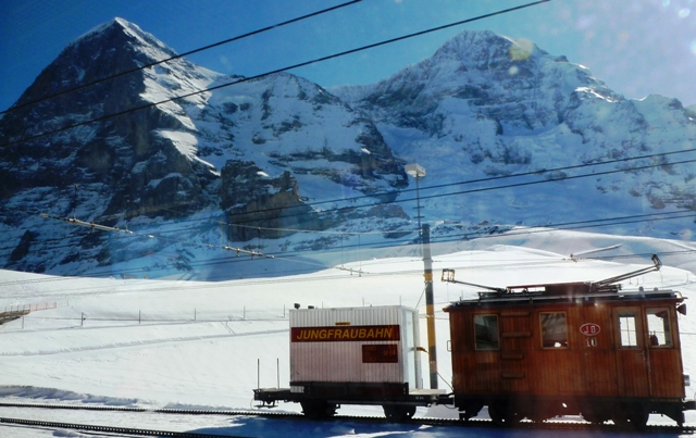 Jungfrau train 100 years old - Switzerland