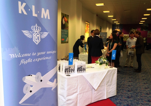 KLM Dakota reception Durham Tees Valley Airport