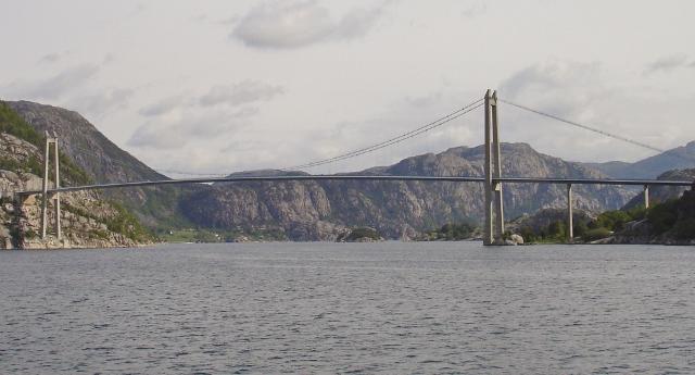 Lysefjord bridge Stavanger