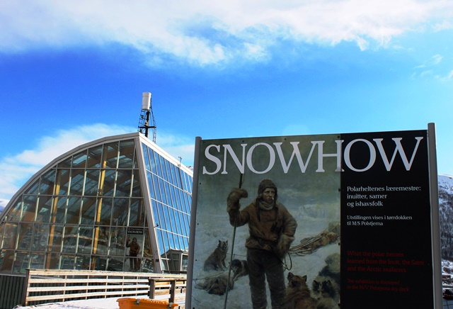 MS Polstjerna and SnowHow Exhibition Tromso - image Zoe Dawes