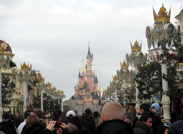 Disneyland Paris Main-Street Parade