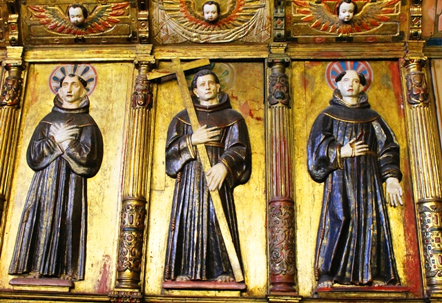 Monks - San Francisco Church Quito - image Zoe Dawes