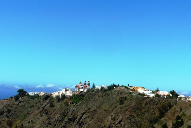 Mountain village of Moya on Gran Canaria