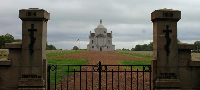 Ablain St-Nazaire French Military Cemetery - Notre-Dame de Lorette, France