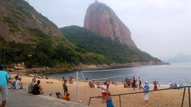 Praia Vermelha (Red Beach) Brazil - image Msadp06