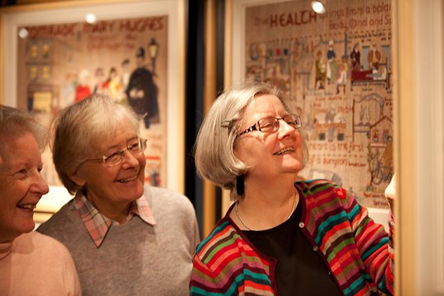 Visit the Quaker Tapestry Kendal