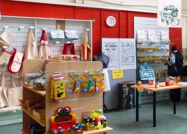 Queen Street Mill shop