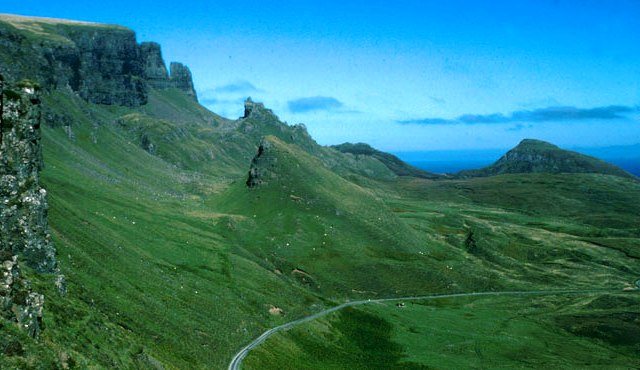 The Quiraing on the Trotternish Ridge, north of Portree, Skye photo visitscotland.com