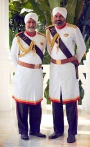 Raffles Hotel Doormen Singapore