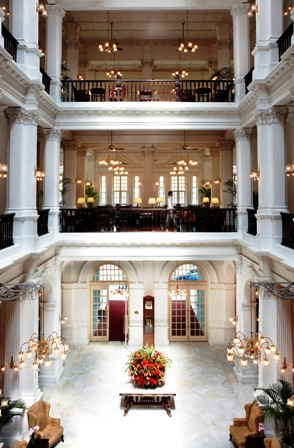 Raffles Hotel Lobby Singapore