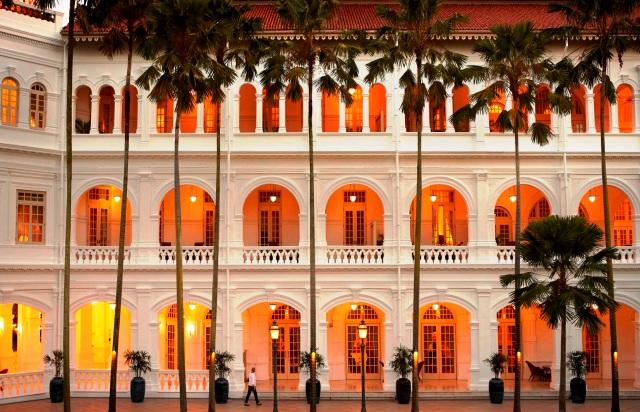 Raffles Hotel Palm Court Singapore