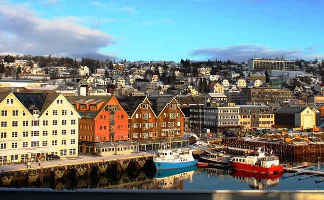 View from Scandic Ishavshotel Tromso - image Zoe Dawes
