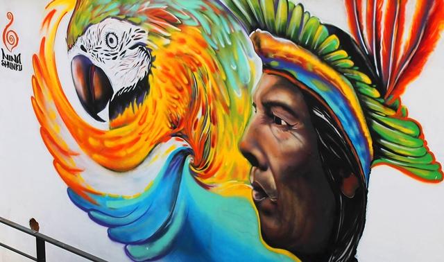 Street art in Quito, Ecuador - image Zoe Dawes