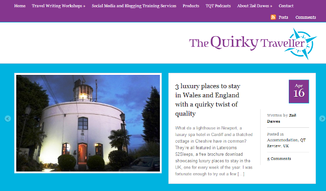 The Quirky Traveller Travel Blog