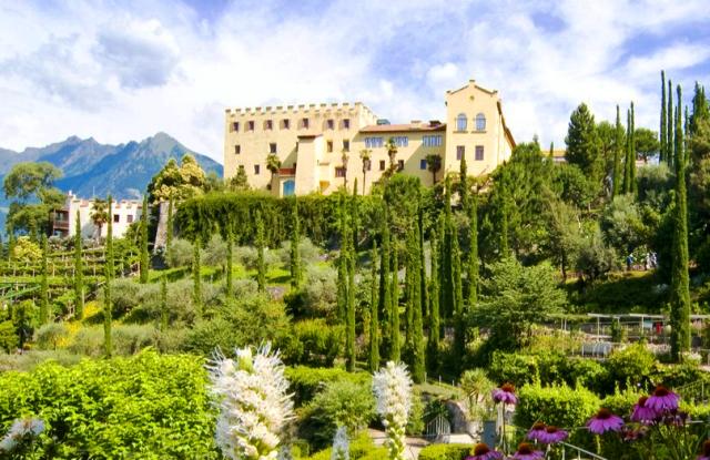 Trauttsmandorff Castle, South Tyrol, Italy