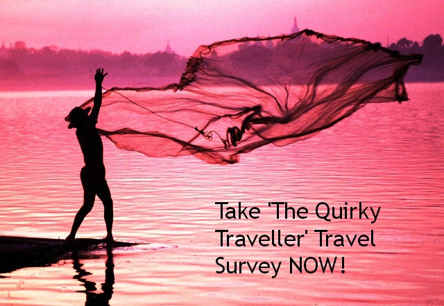 The Quirky Traveller Travel Survey - Irrawaddy River photo c/o industours.co.uk