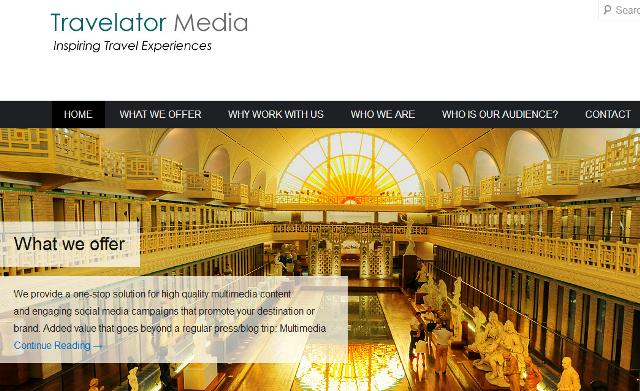 Travelator Media www.travelatormedia.com