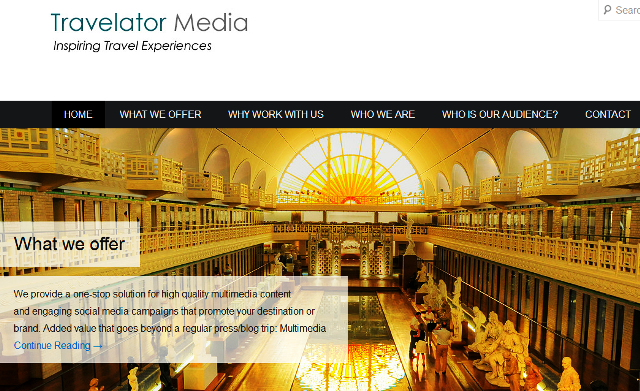 Travelator Media - what we offer