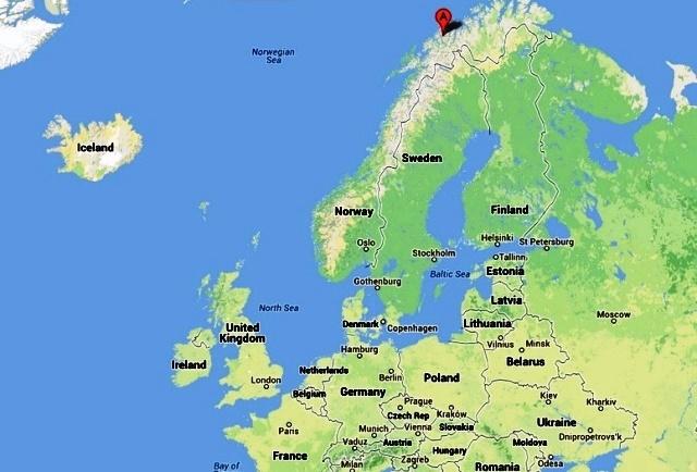 Tromso Norway  city photos gallery : Tromso Norway Map | Car Interior Design