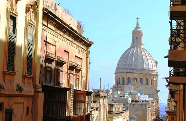 Valletta street view Malta - image Zoe Dawes