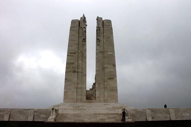 Vimy Ridge Canadian monument - image Zoe Dawes