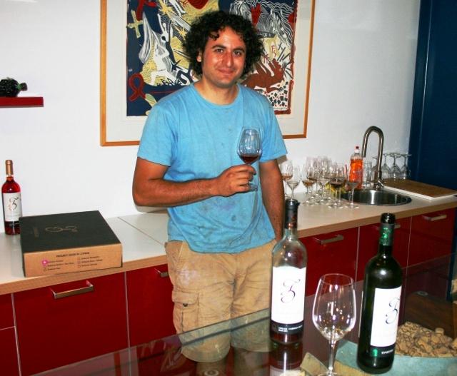 Wine tasting with Marcos Zambartas