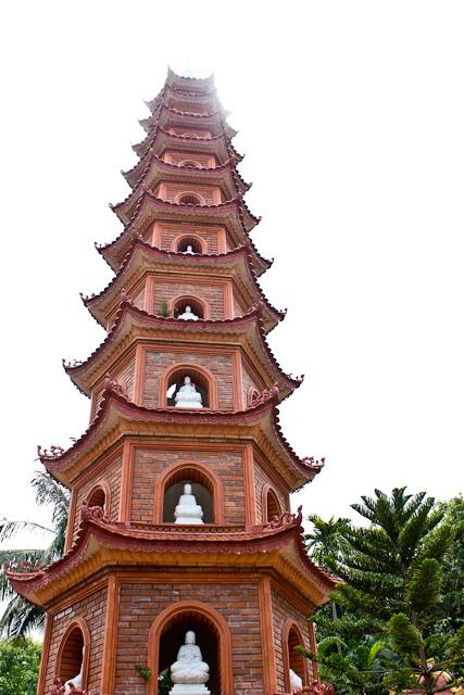 Hanoi Pagoda by David Conger