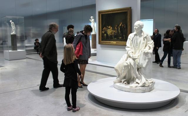 Galerie du Temps Louvre Lens France - photo Zoe Dawes www.thequirkytraveller.com