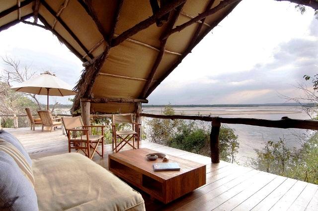 Sand Rivers Selous luxury Safari Lodge - Tanzania Africa