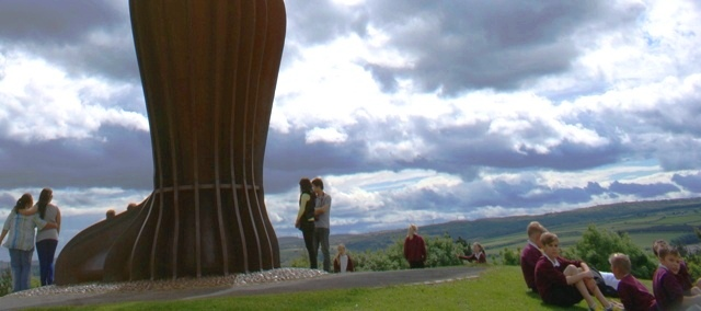 The Angel of the North Gateshead up close - by Zoe Dawes