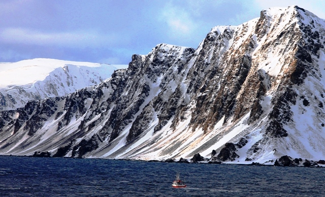 Norway Arctic coast from Hurtigruten ferry - image Zoe Dawes