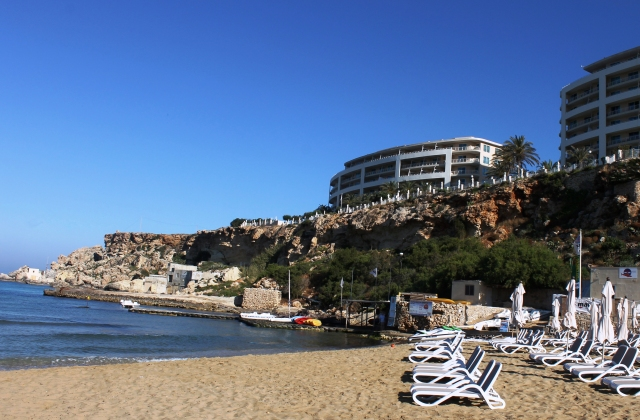 Azure Golden Sands Resort - Golden Sands Beach, Malta - image Zoe Dawes